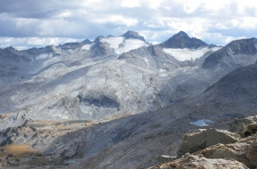 Backpack to Lyell Glacier