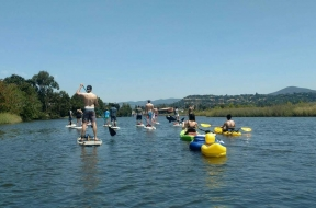 Team Paddle Excursion - Napa River Spring Runoff